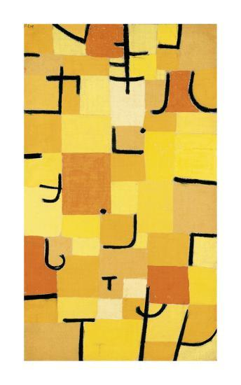 Signs in Yellow-Paul Klee-Premium Giclee Print