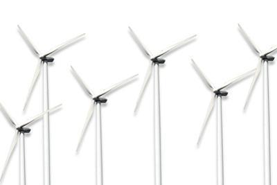 Wind Turbines, Artwork by Sigrid Gombert