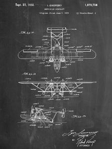 Sikorsky Amphibian Aircraft 1929 Patent