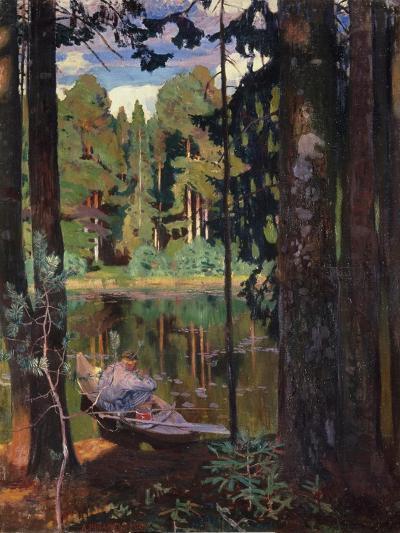 Silence, 1908-Arkadi Rylow-Giclee Print
