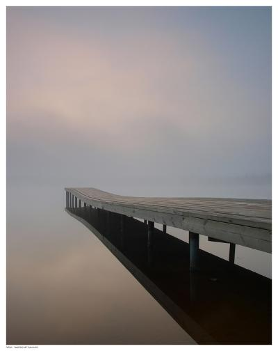 Silence at the Dock--Art Print
