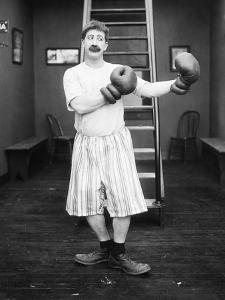 Silent Film Still: Boxing