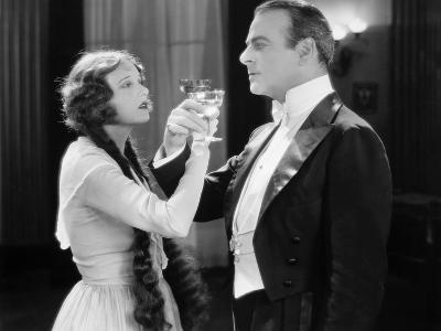 Silent Film Still: Drinking--Photographic Print
