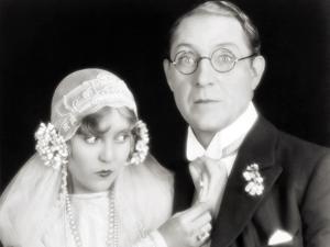 Silent Film Still: Wedding