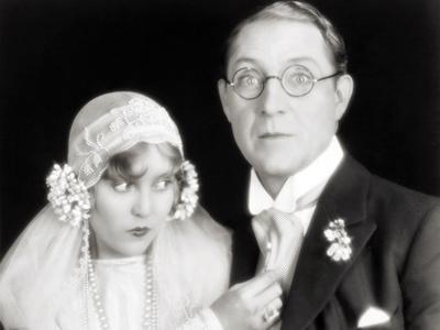 Silent Film Still: Wedding--Photographic Print