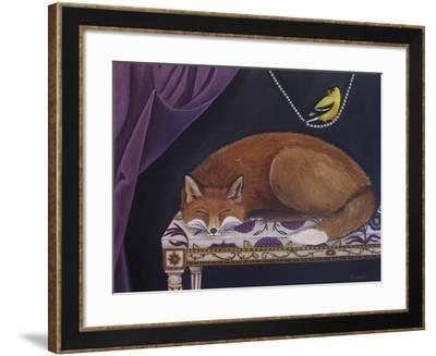 Silent Observation-Catherine A Nolin-Framed Giclee Print