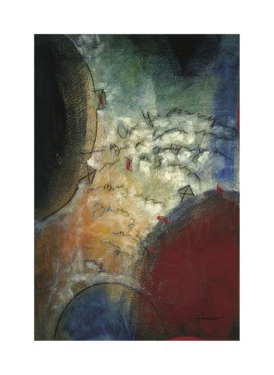 Silent Poem I-Trey-Giclee Print