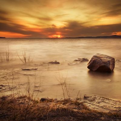 Silent Rock-Irene Suchocki-Photographic Print