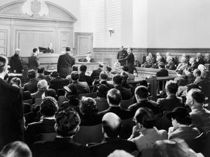 Silent Still: Courtroom
