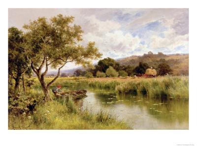 Silent Stream-Henry Parker-Giclee Print