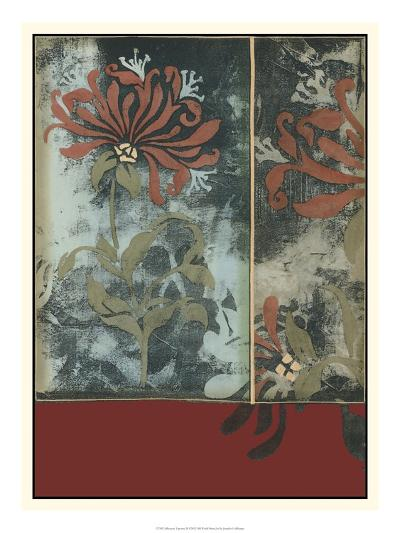 Silhouette Tapestry III-Jennifer Goldberger-Art Print