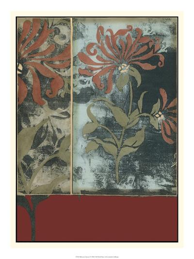 Silhouette Tapestry IV-Jennifer Goldberger-Art Print