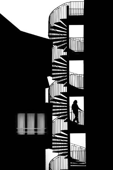 Silhouette-Massimo Della-Photographic Print