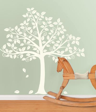Silhoutte Tree Decal Kit--Wall Decal