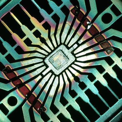 Silicon Chip--Photographic Print