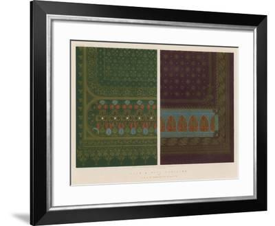 Silk and Wool Curtains by J and J S Templeton, Glasgow--Framed Giclee Print