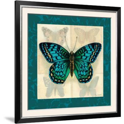 Silk Butterfly I--Framed Photographic Print