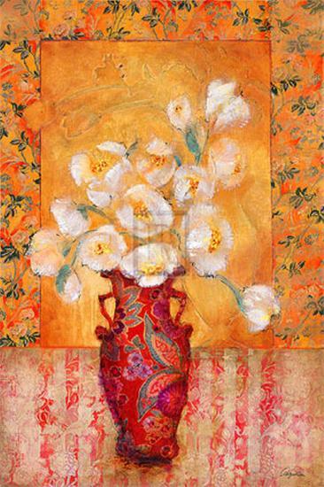 Silk Petals-Augustine (Joseph Grassia)-Art Print