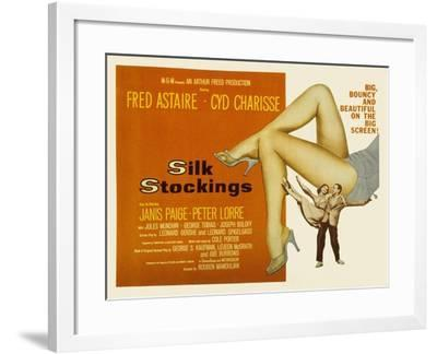 Silk Stockings, with Fred Astaire and Cyd Charisse, 1957--Framed Photo