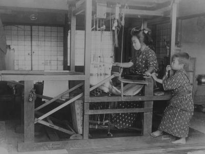 Silk Weaver--Photographic Print