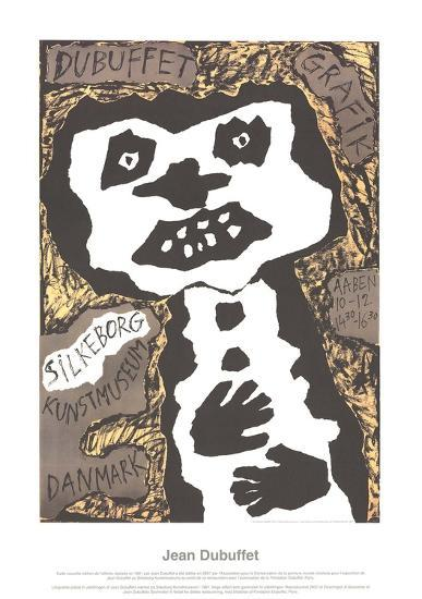 Silkeborg Kunstmuseum-Jean Dubuffet-Collectable Print