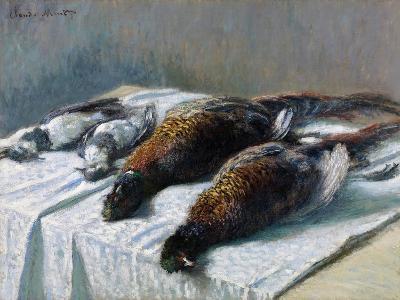 Sill Life, 1879-Claude Monet-Giclee Print