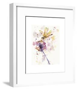 Dragonfly & Dandelion by Sillier than Sally