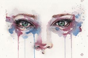 Eyes (Realistic Portrait Of Eyes) by Sillier than Sally