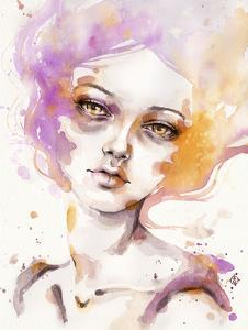 Hazy Dayz (female portrait) by Sillier than Sally