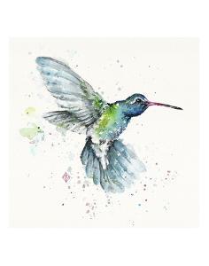 Hummingbird Flurry by Sillier than Sally
