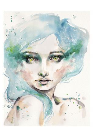 Under the Sea (female portrait)