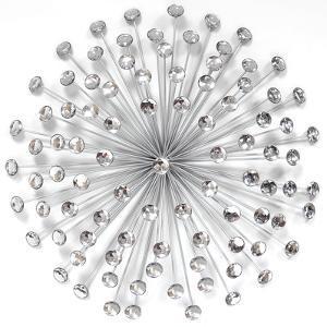 Silver Acrylic Burst
