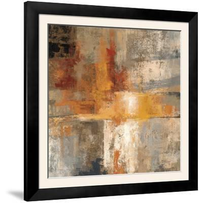 Silver and Amber Crop--Framed Photographic Print