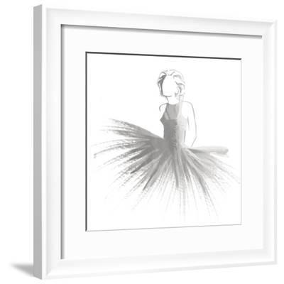 Silver Attitude-OnRei-Framed Art Print