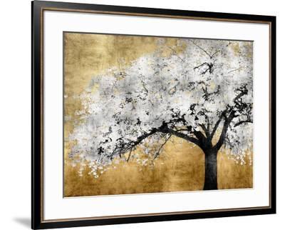 Silver Blossoms-Kate Bennett-Framed Art Print
