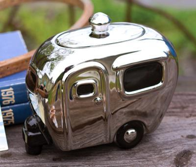 Silver Camper Canister