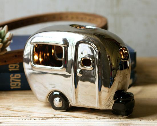 Silver Camper Nightlight--Home Accessories