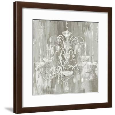 Silver Chandelier-Aimee Wilson-Framed Art Print