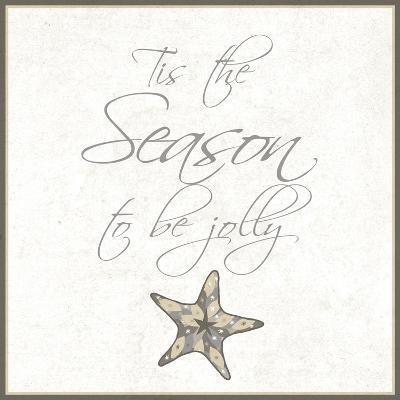 Silver Coast Christmas Square IV-Nicholas Biscardi-Premium Giclee Print