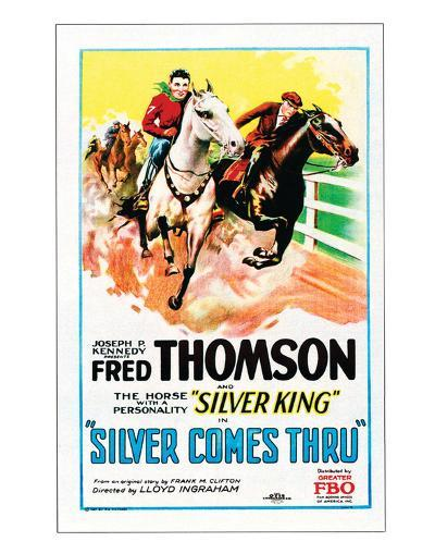 Silver Comes Through - 1927--Giclee Print