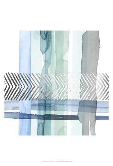 Silver Cross Stitch I-Grace Popp-Art Print