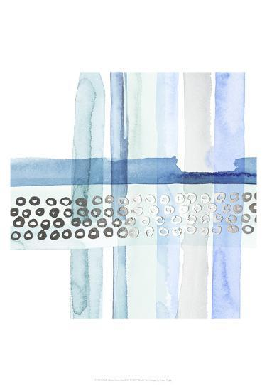 Silver Cross Stitch III-Grace Popp-Art Print