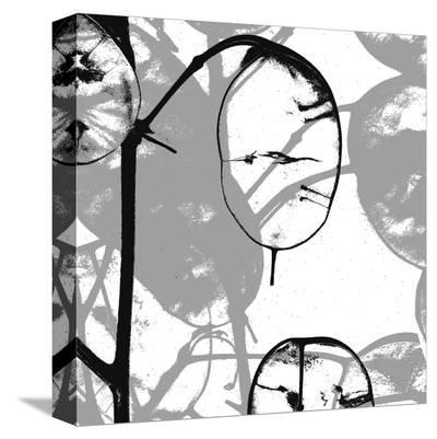Silver Dollars IX-Erin Clark-Stretched Canvas Print