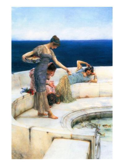 Silver Favorites-Sir Lawrence Alma-Tadema-Art Print