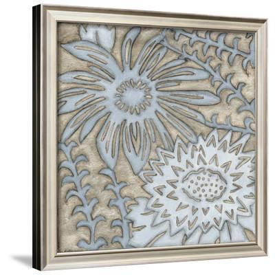 Silver Filigree III-Megan Meagher-Framed Giclee Print