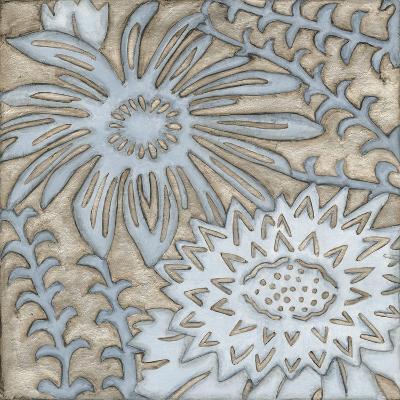 Silver Filigree III-Megan Meagher-Art Print