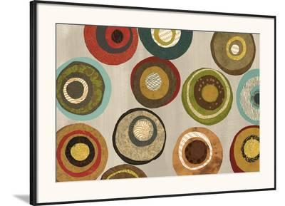 Silver Flight of Fancy I-Jeni Lee-Framed Art Print
