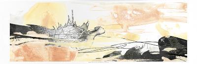 Silver Geode Landscape I-June Erica Vess-Art Print