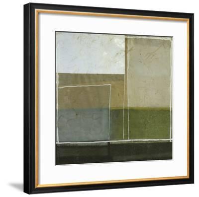 Silver Horizon I--Framed Art Print