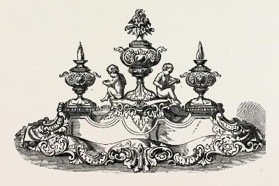Silver Inkstand, 1851--Giclee Print